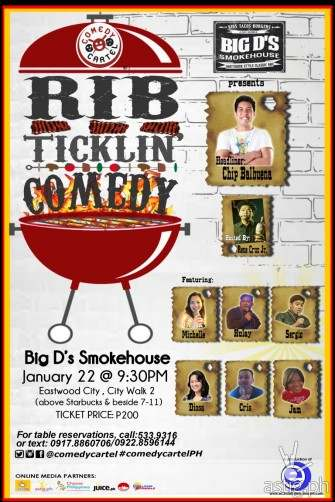 Rib Ticklin' Comedy by Comedy Cartel @ Eastwood [event]