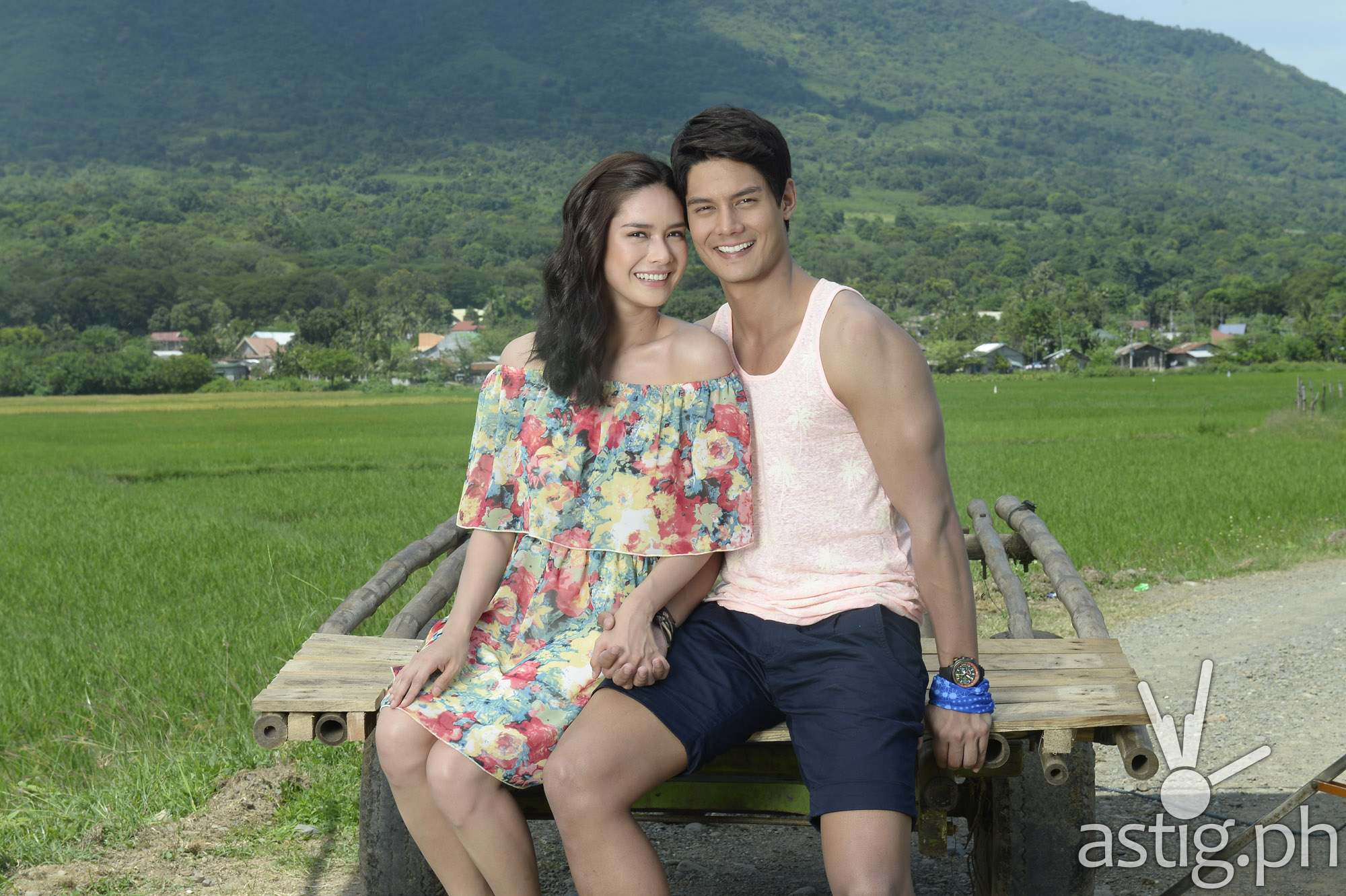 Daniel Matsunaga and Erich Gonzales for Be My Lady