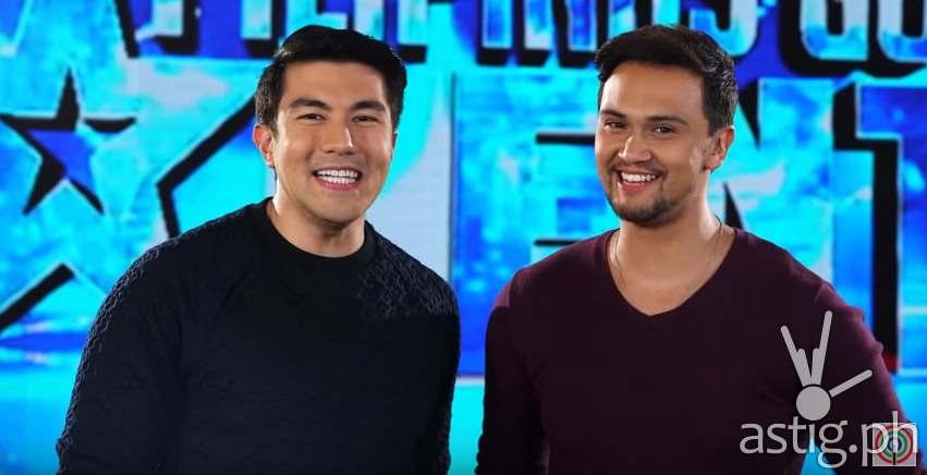 Pilipinas Got Talent hosts Luis Manzano and Billy Crawford