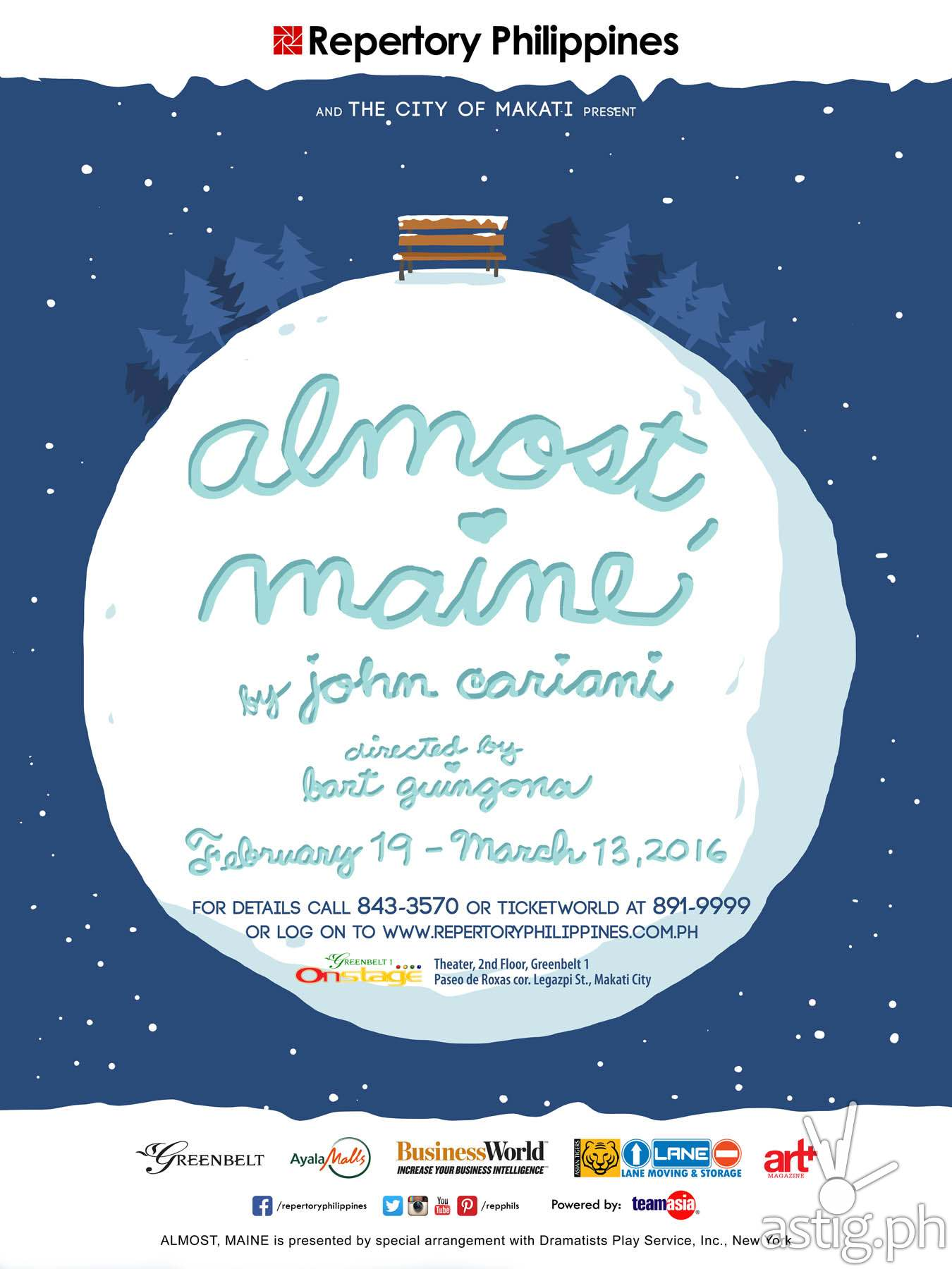 Almost Maine by Repertory Philippines
