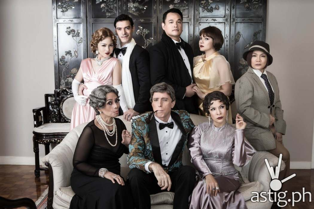 The Game's Afoot: comedy-mystery production by Repertory Philippines