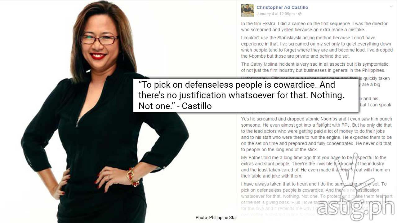 cathy molina scandal