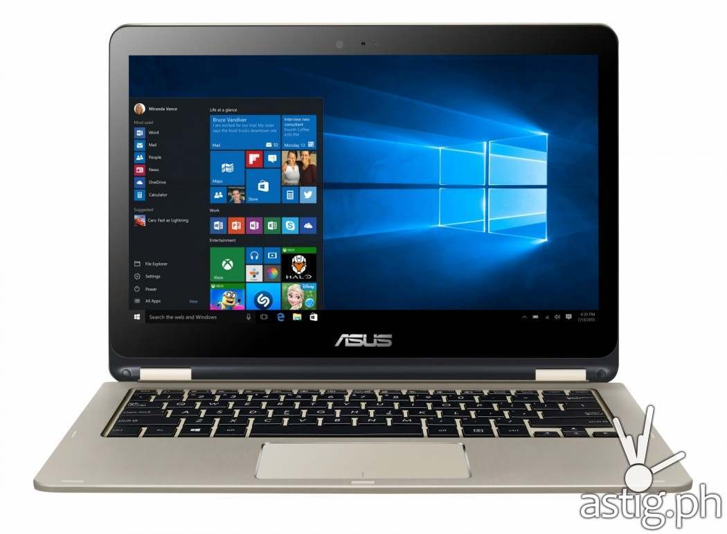 ASUS VivoBook laptop computer TP301