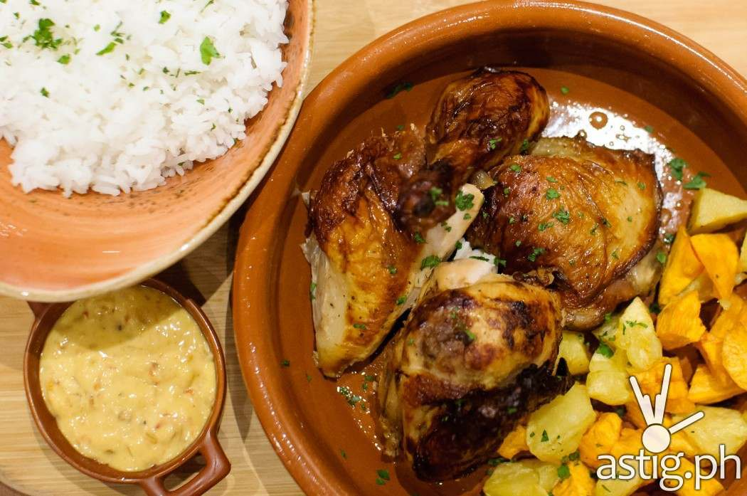 Main dish: Enye Roasted Chicken with Root Vegetables (Php 490) at Café Enye Eastwood Libis Quezon City