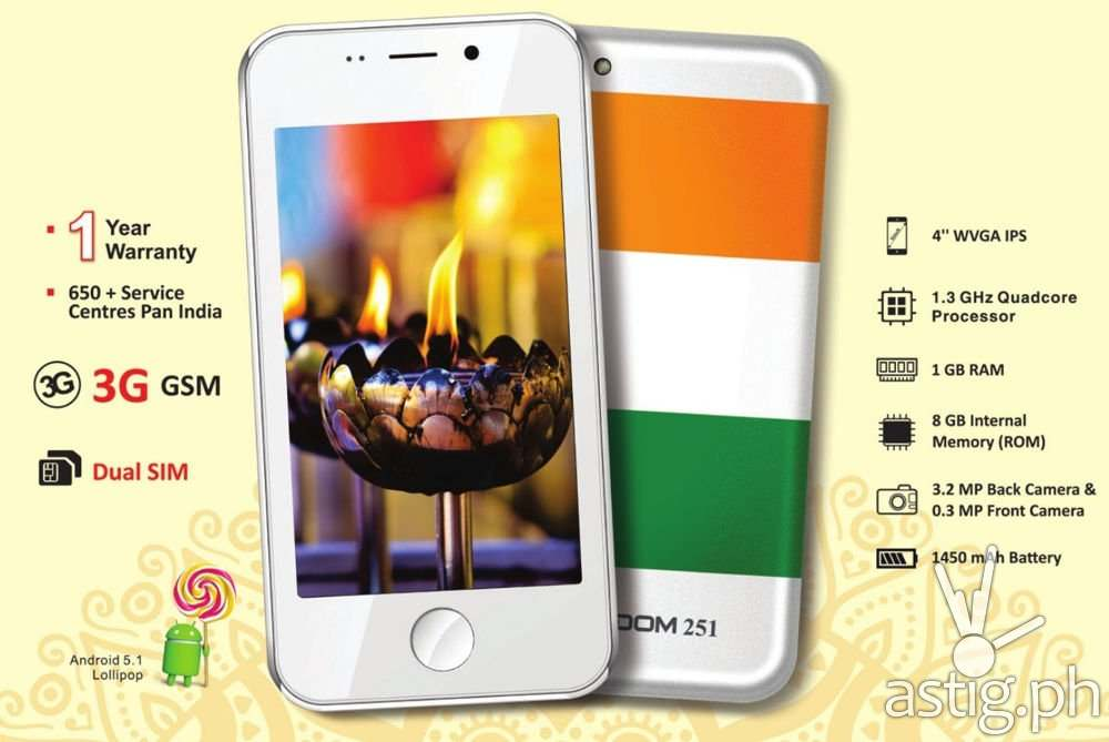 Freedom 251 technical specifications