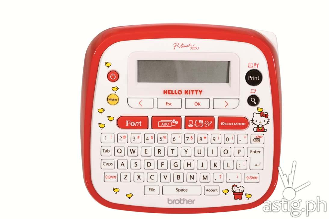 Hello Kitty Labelling Machine Brother PT-D200KT