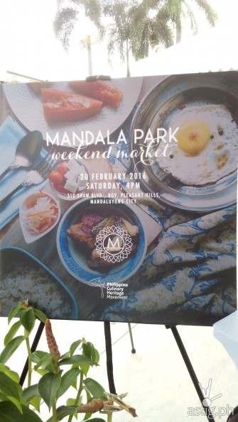 Mandala Park's Weekend Market!