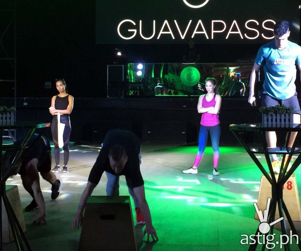 The men of Meralco sparks were game enough to accept GuavaPass' challenge. The winner of this challenge got to take home a free 1 month GuavaPass membership.