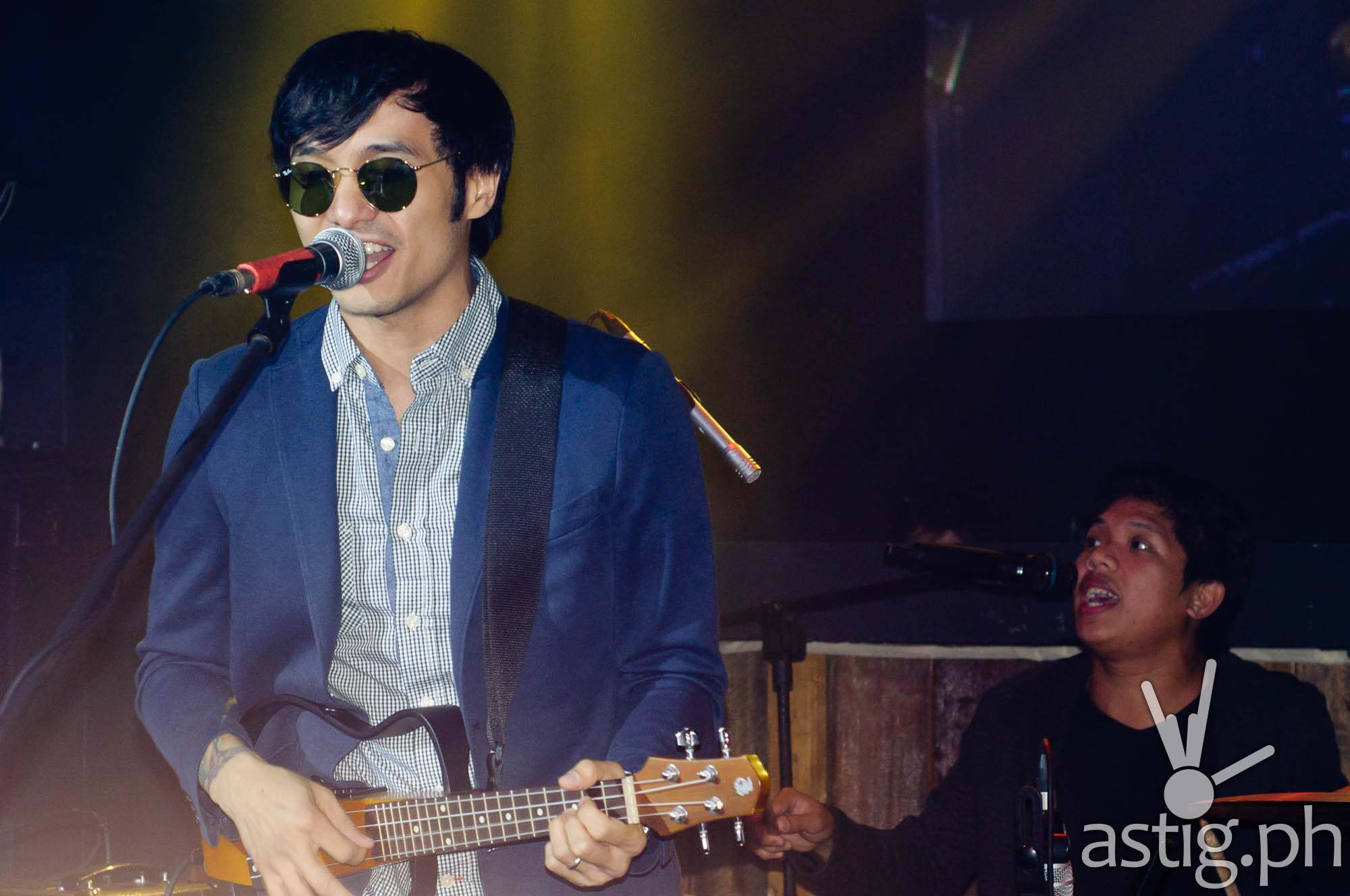 Kean Cipriano of Callalily at Gindependence Day Ginebra San Miguel
