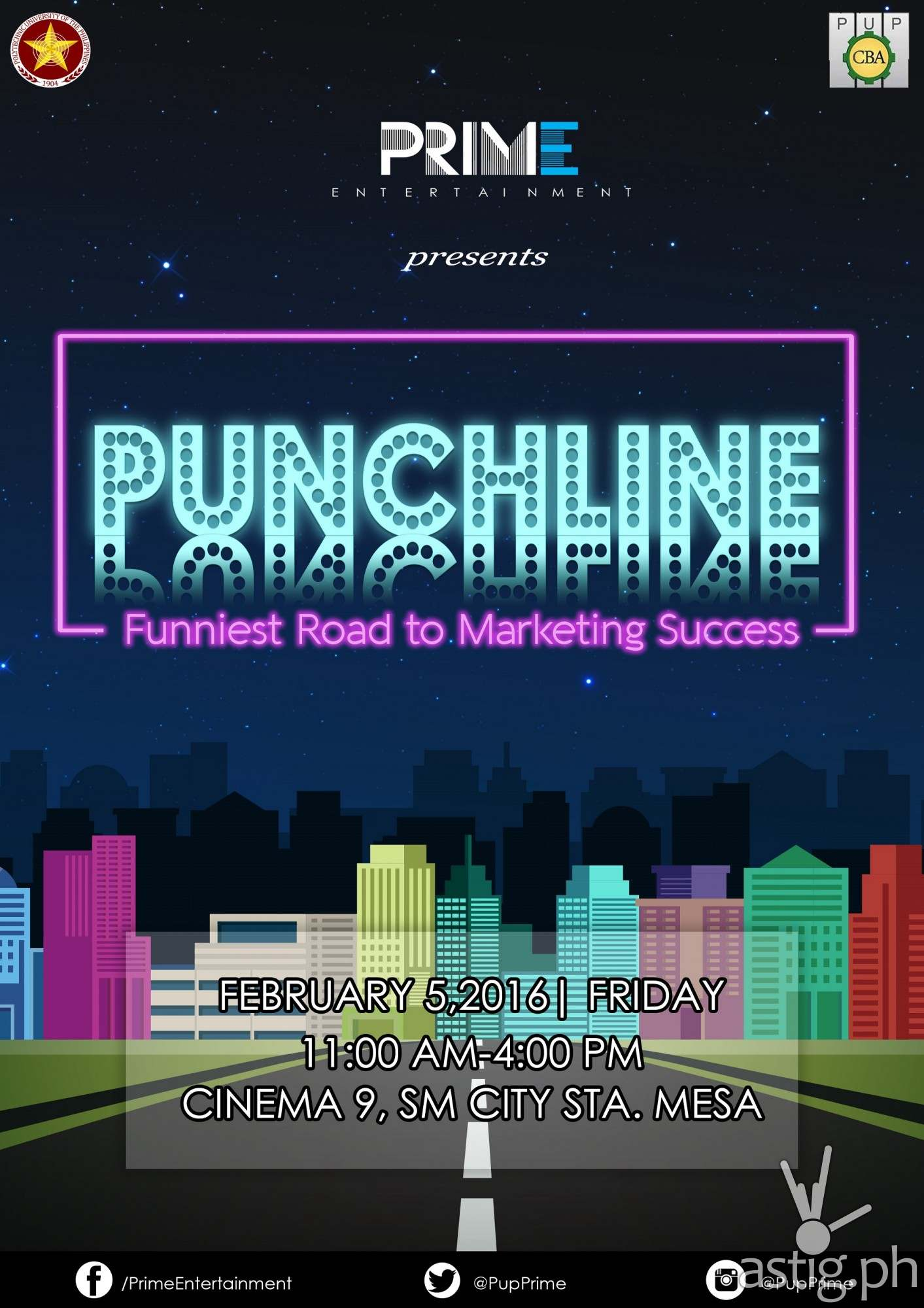 Punchline Funniest Road to Marketing Success poster