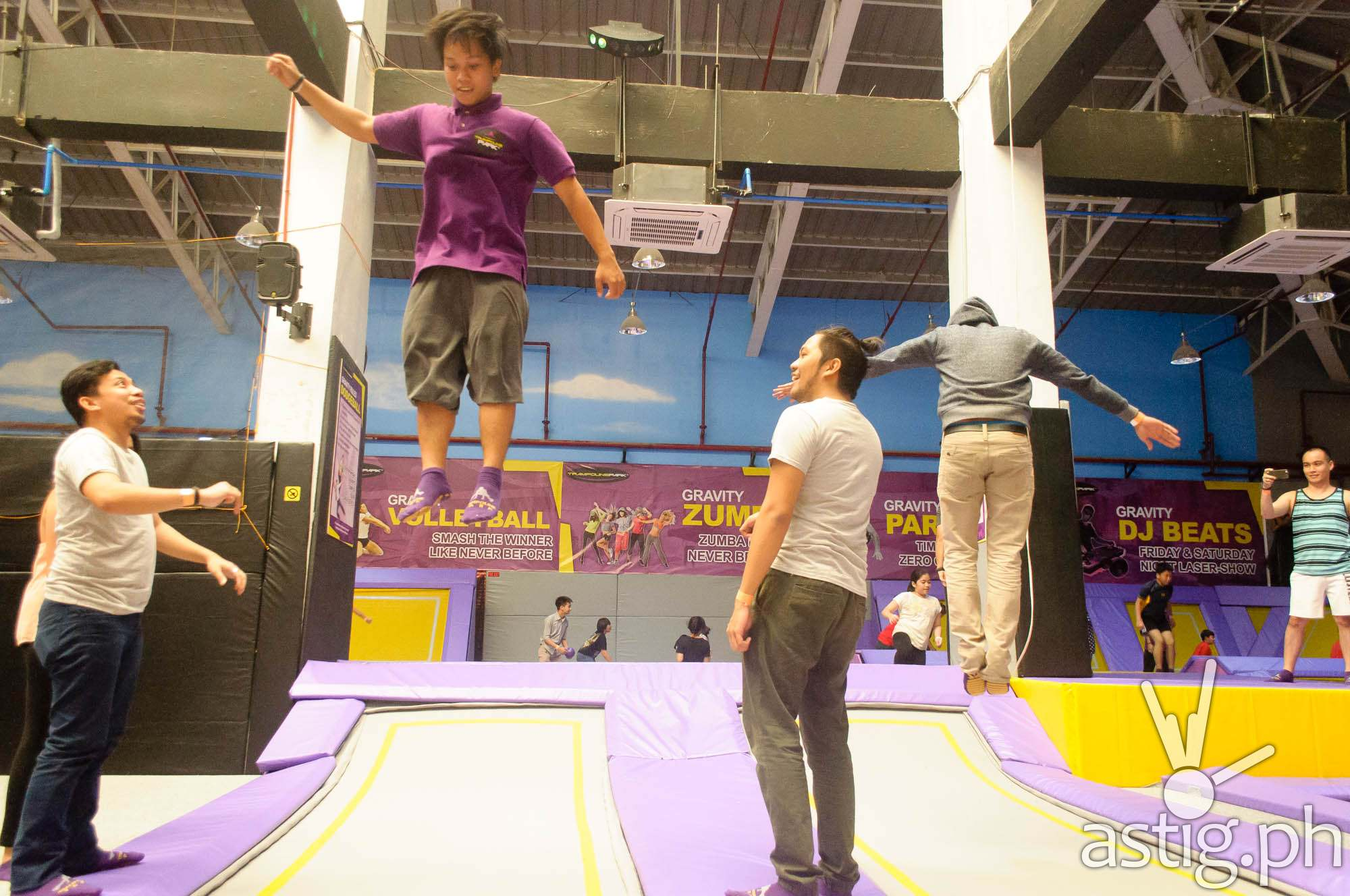 Trampoline Park Philippines Zero Gravity Zone