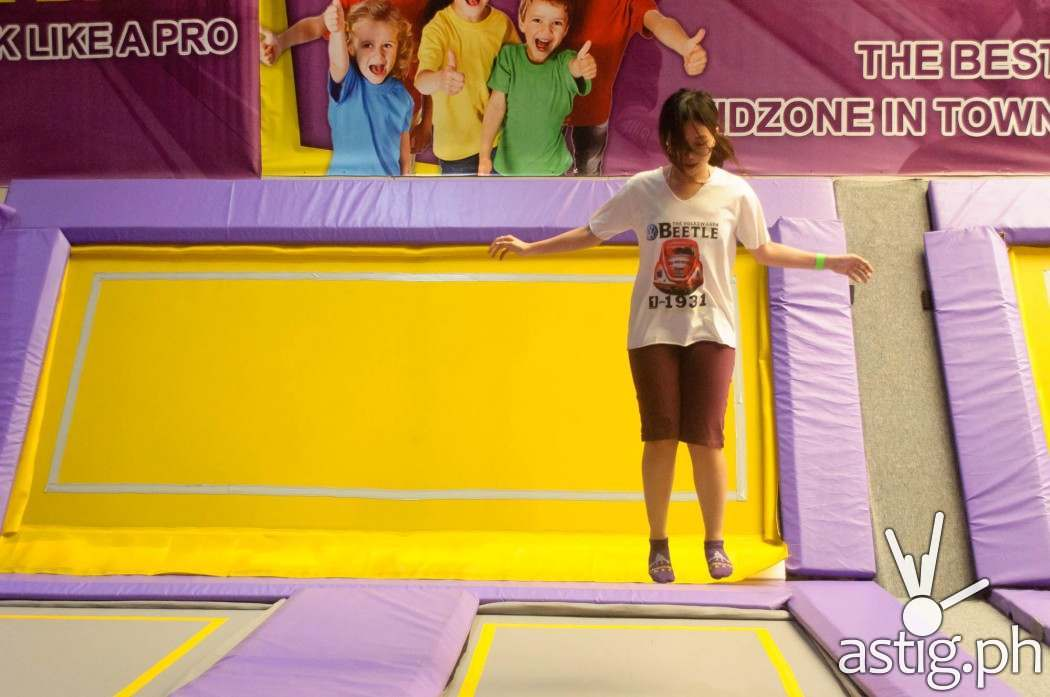 A research by NASA found that rebounding (bouncing) for 10 on a trampoline  is a more efficient cardiovascular workout than over 30 minutes of running