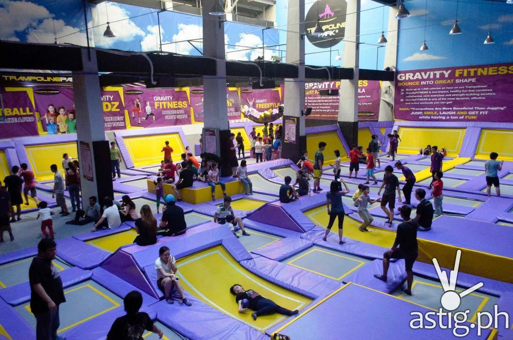 Trampoline Park Philippines held a soft opening on February 8, 2016