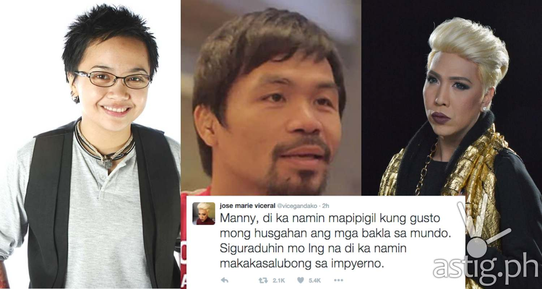 Vica Ganda Aiza seguerra slam Manny Pacquao