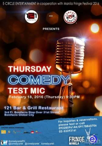 Comedy Cartel at Bar & Grill and Big D's [event]