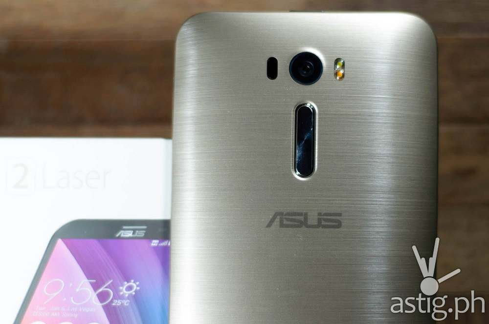 Asus ZenFone Gold Finish
