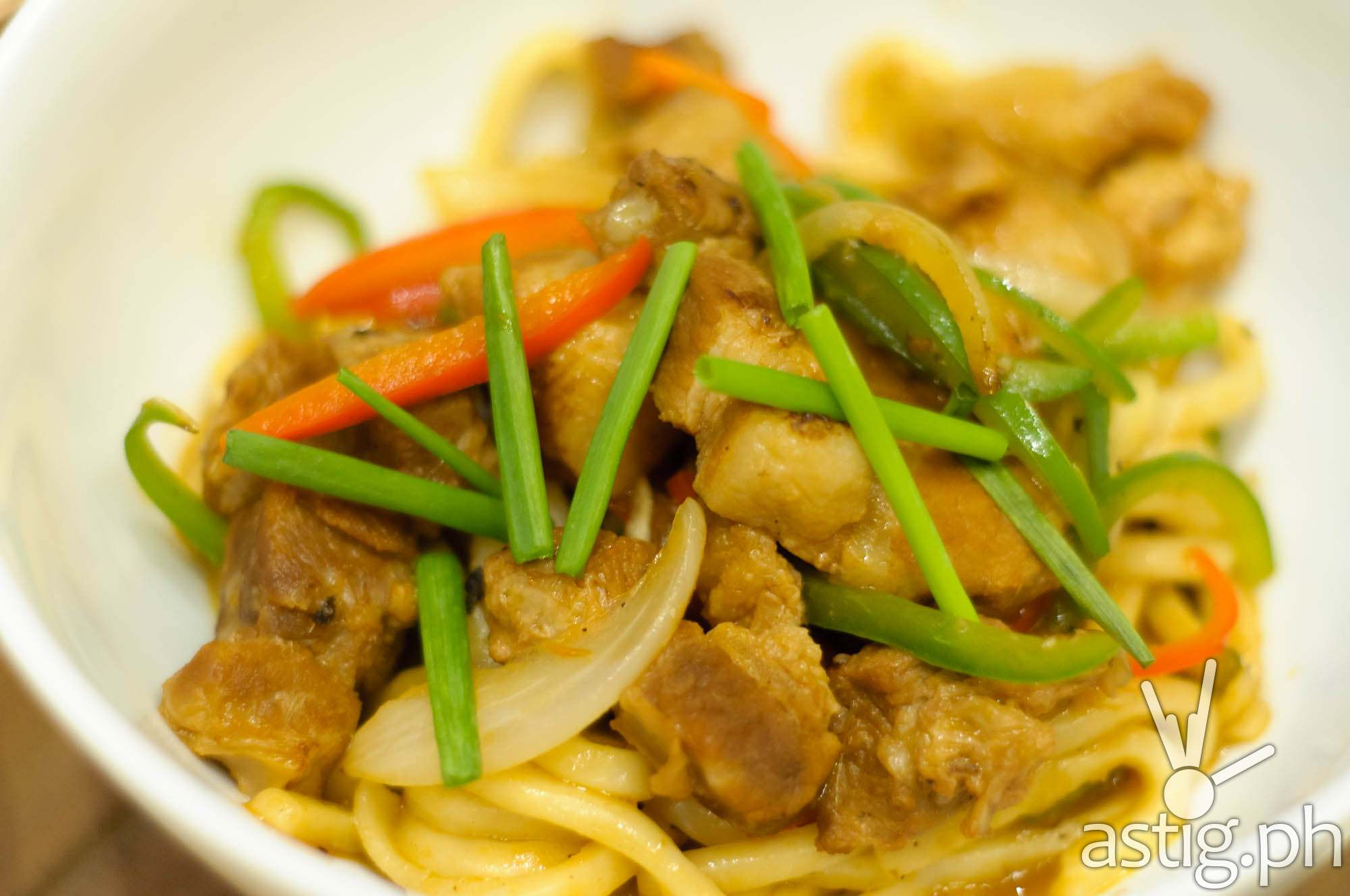 Braised Pork Belly with Udon Noodles (P375) - Mian at Marriott Grand Ballroom