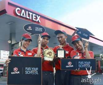Caltex Fuel Your School bags Silver Anvil Award