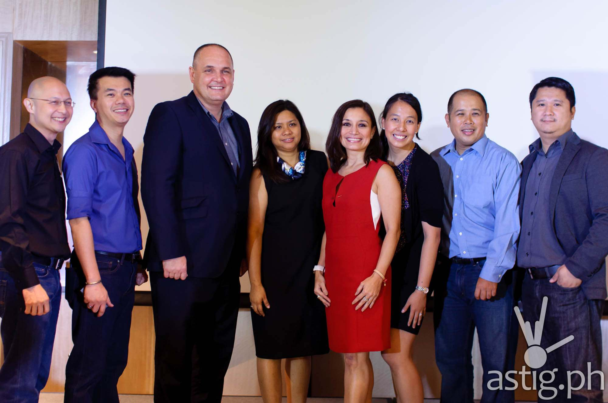 Intel Philippines executives