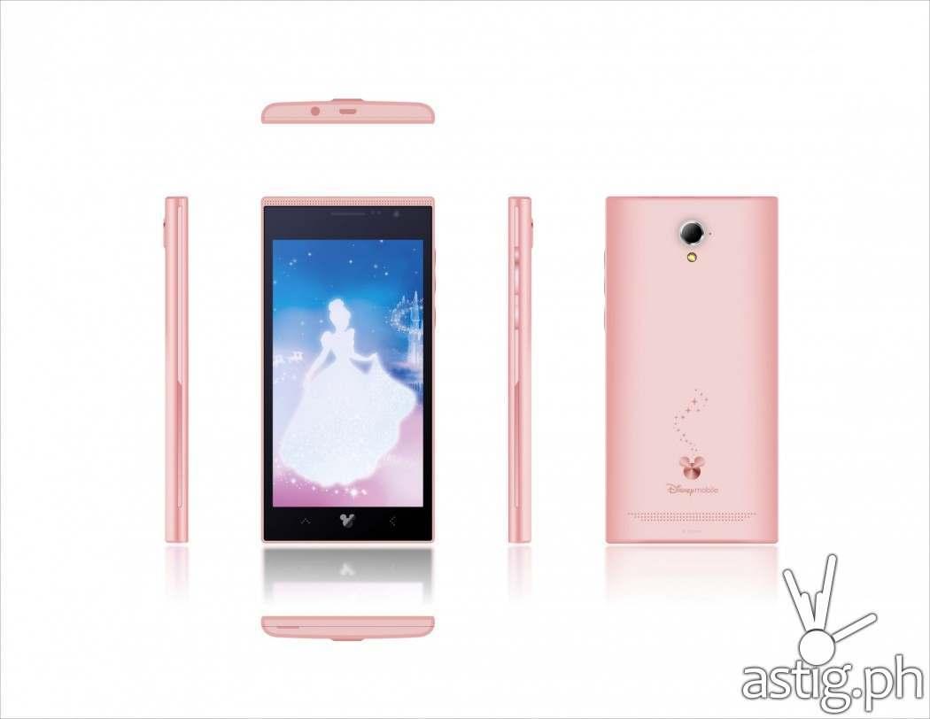 Disney Princess smartphone from Disney Mobile