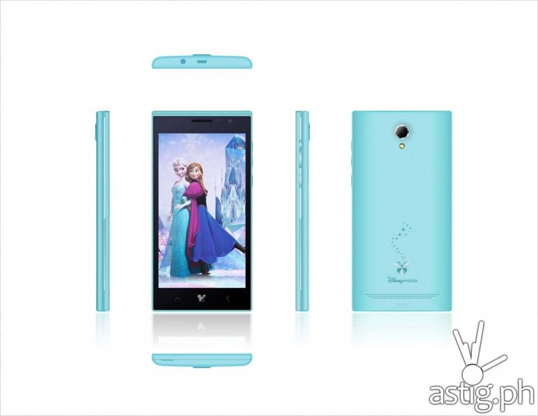 Frozen smartphone from Disney Mobile