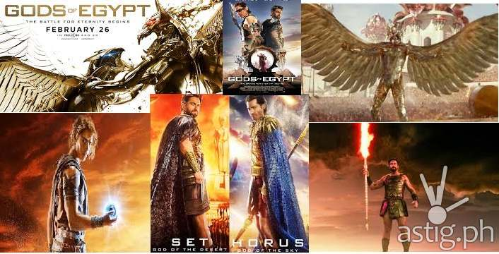 GODS OF EGYPT: A Personal Review | ASTIG PH