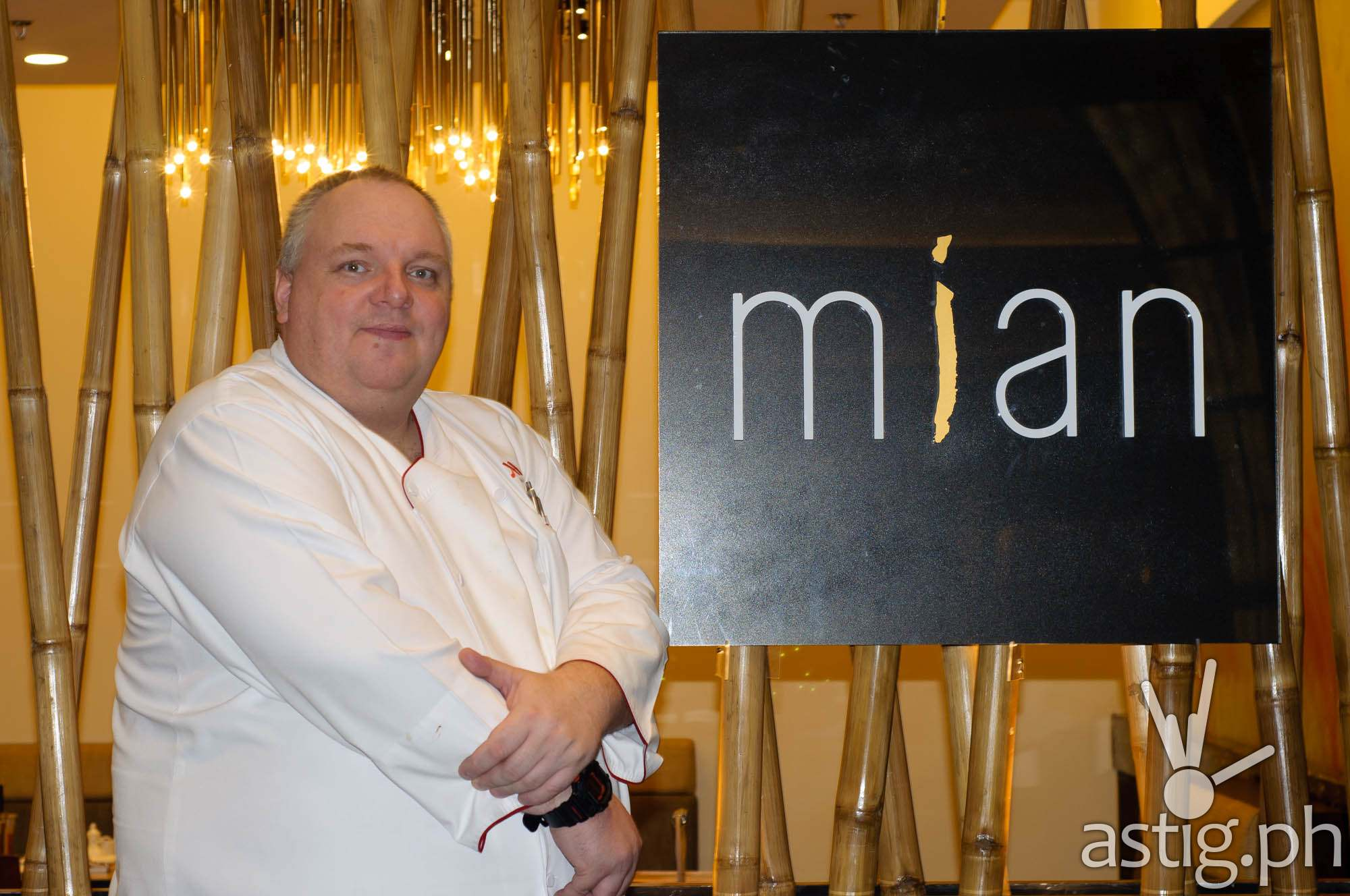 Meik Brammer, Executive Chef, Marriott Manila at Mian
