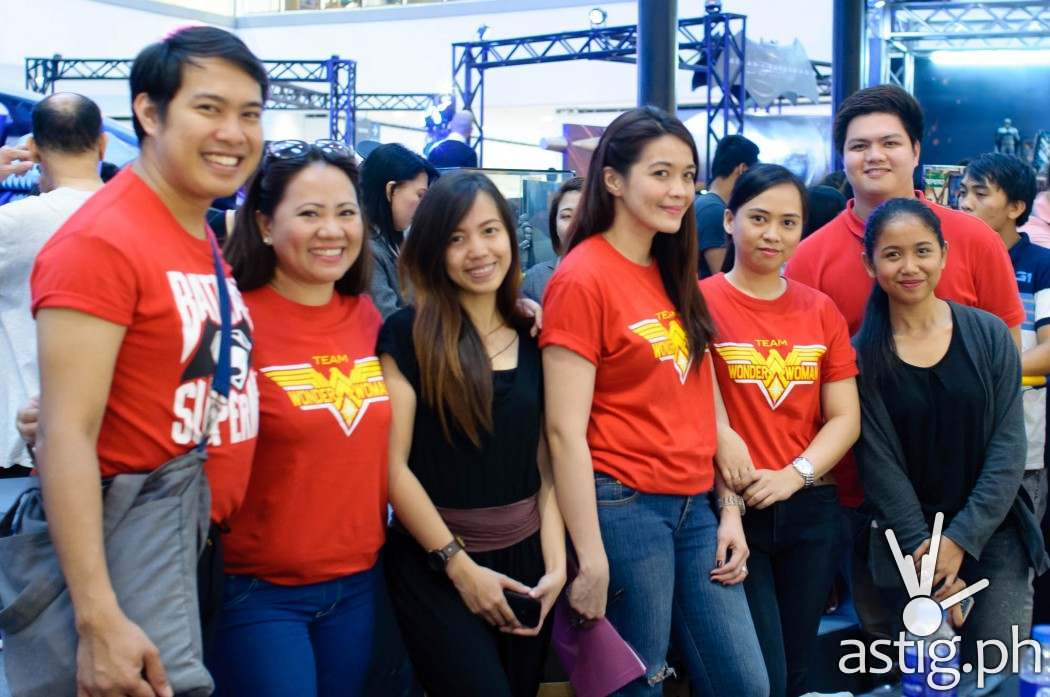 PMCM Events Team at the Media Launch of Batman v Superman held at The Block SM North EDSA
