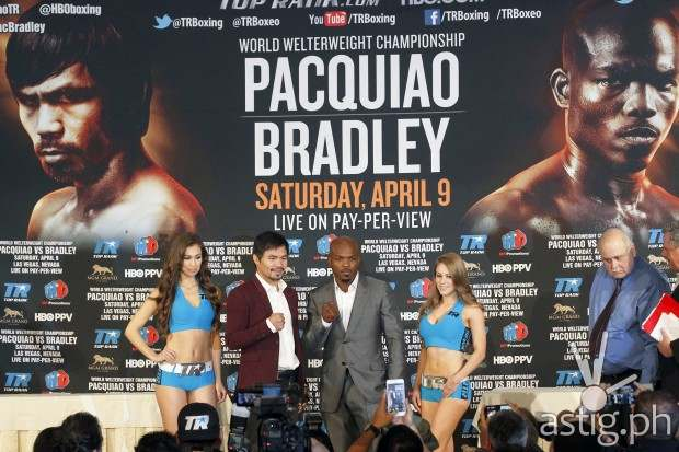 Pacquiao Bradley 3 (photo: Nick Ut / AP)