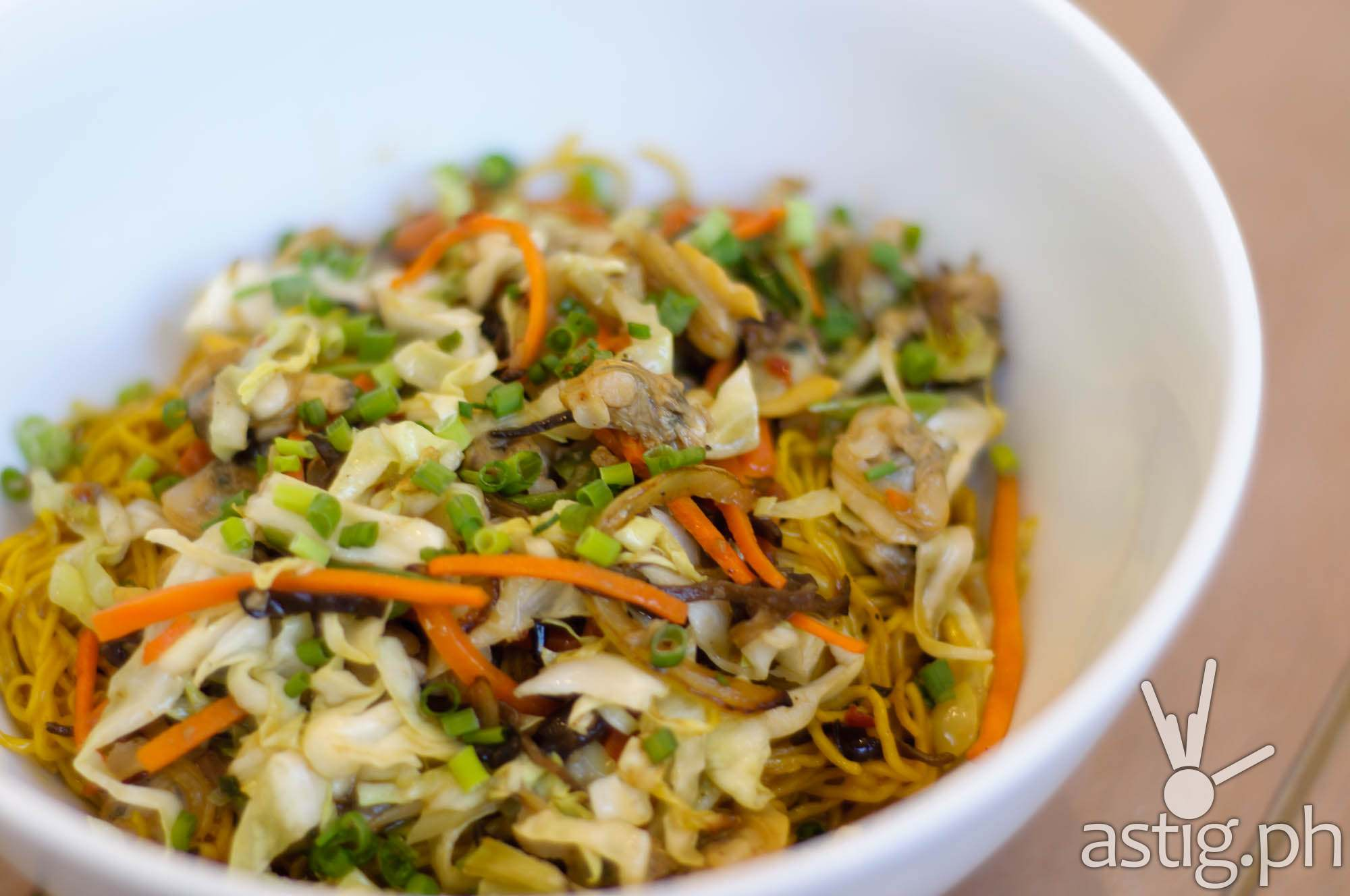 Stir Fried Clams with Egg Noodles (P395) - Mian at Marriott Grand Ballroom