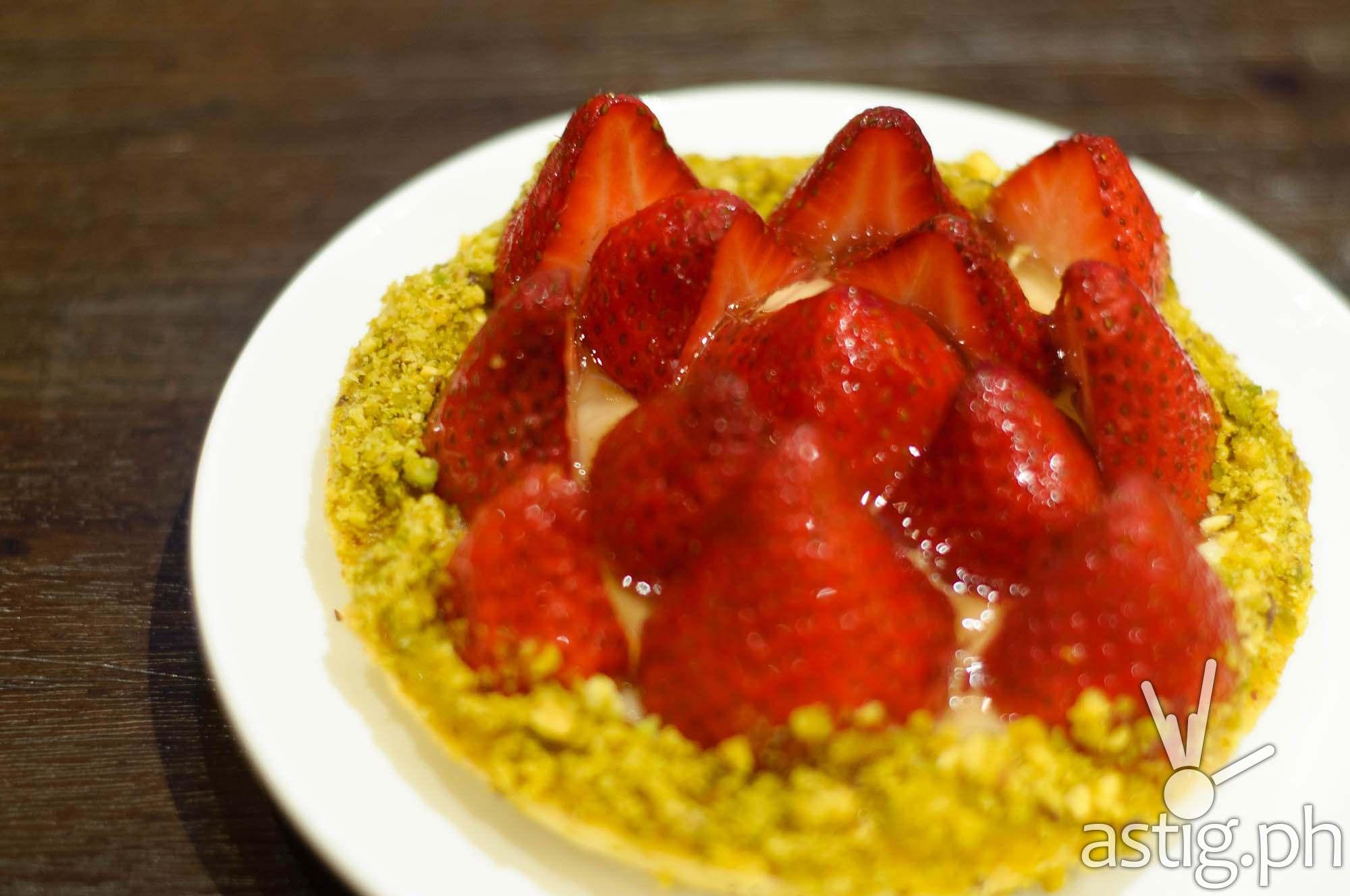 Strawberry Tart (P230) - Crema at Marriott Grand Ballroom
