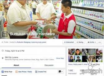 Who's Going To The 'Suntukan Sa ACE Hardware' Event?