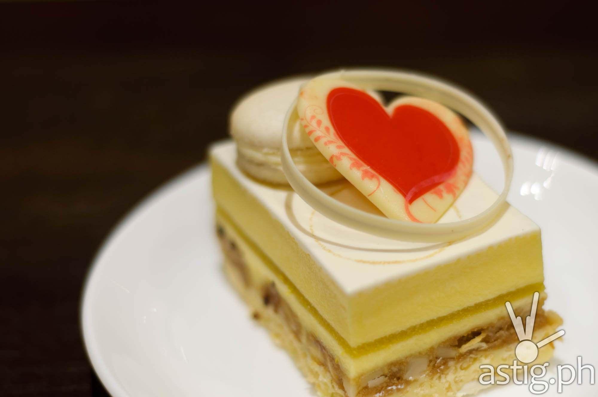 White Chocolate Brownie Cake (P250) - Crema at Marriott Grand Ballroom