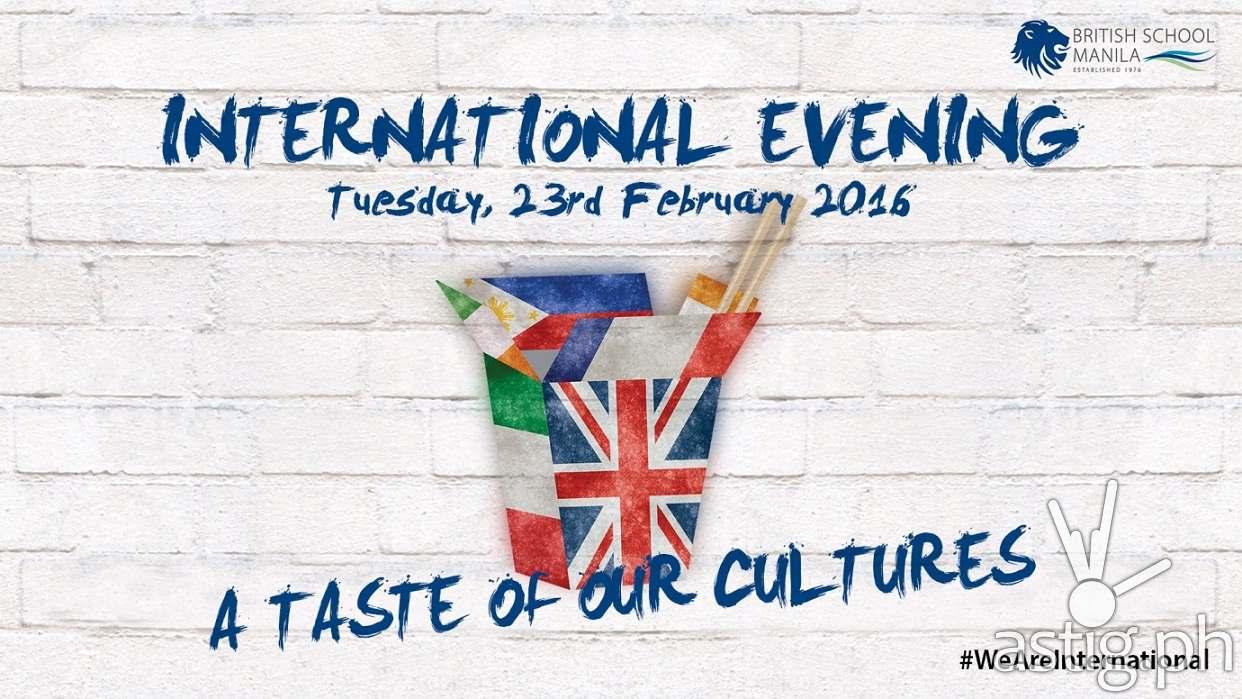 BSM International Evening 2016: A Taste of Our Cultures