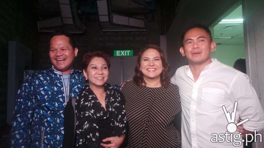 Bayani Agbayani, Beverly Salviejo, Karla Estrada and Jayson Gainza