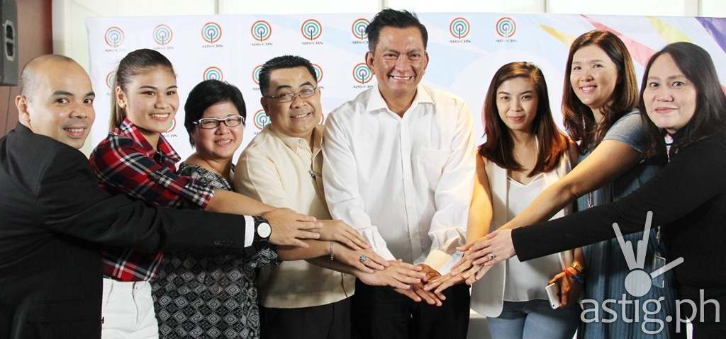 ASA channel head Vince Rodriguez, Carmela Tunay, ASA HD channel head Jojo Neri-Estacio, DepEd Asst. Sec. Tonisito Umali, Gov. Joey Salceda, Fille Cayetano, Sen. Pia Cayetano, Atty. Abigail Aquino