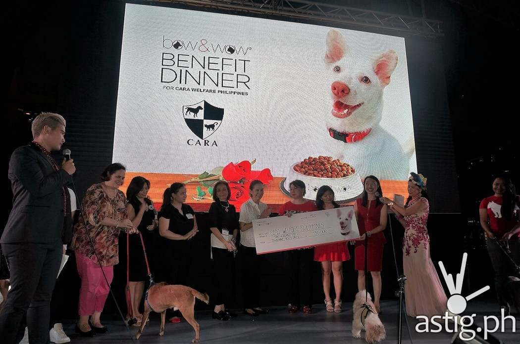 Bow and Wow benefit dinner for CARA Welfare Philippines