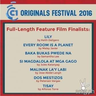 2016 Cinema One originals final lineup revealed