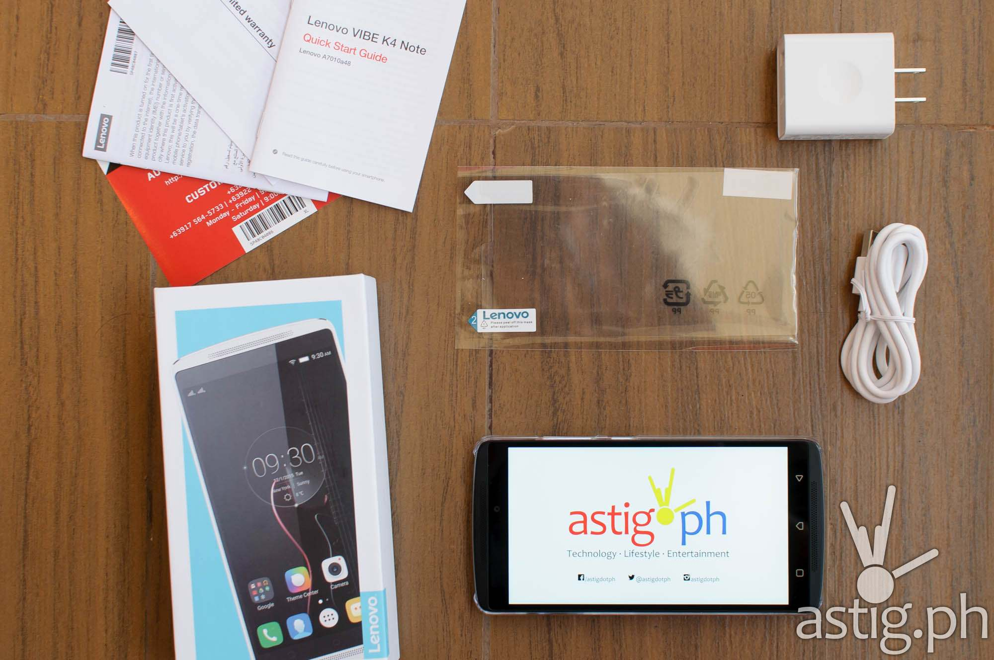 Lenovo VIBE K4 Note preview unboxing video
