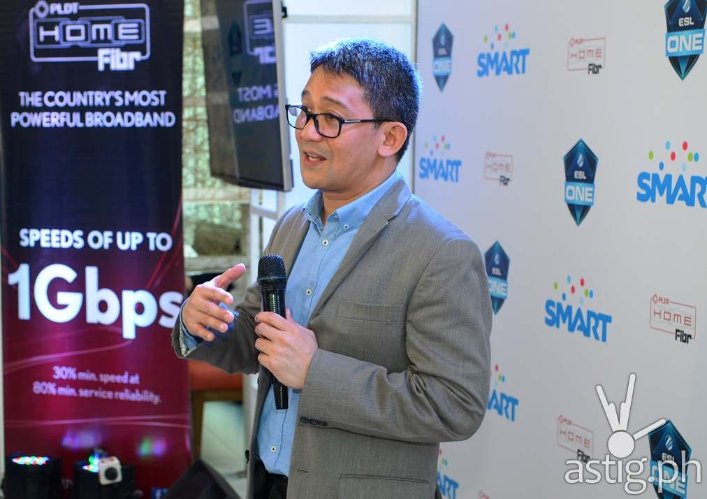Ariel P Fermin, EVP and Head of Consumer Business at PLDT and Smart