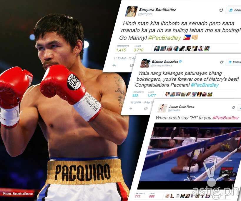Manny Pacquiao vs Timothy Bradley Results