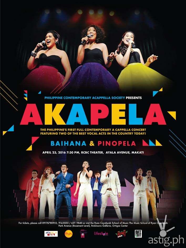 AKAPELA poster