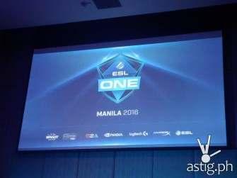 ESL One Manila: biggest E-Sports event in SouthEast Asia