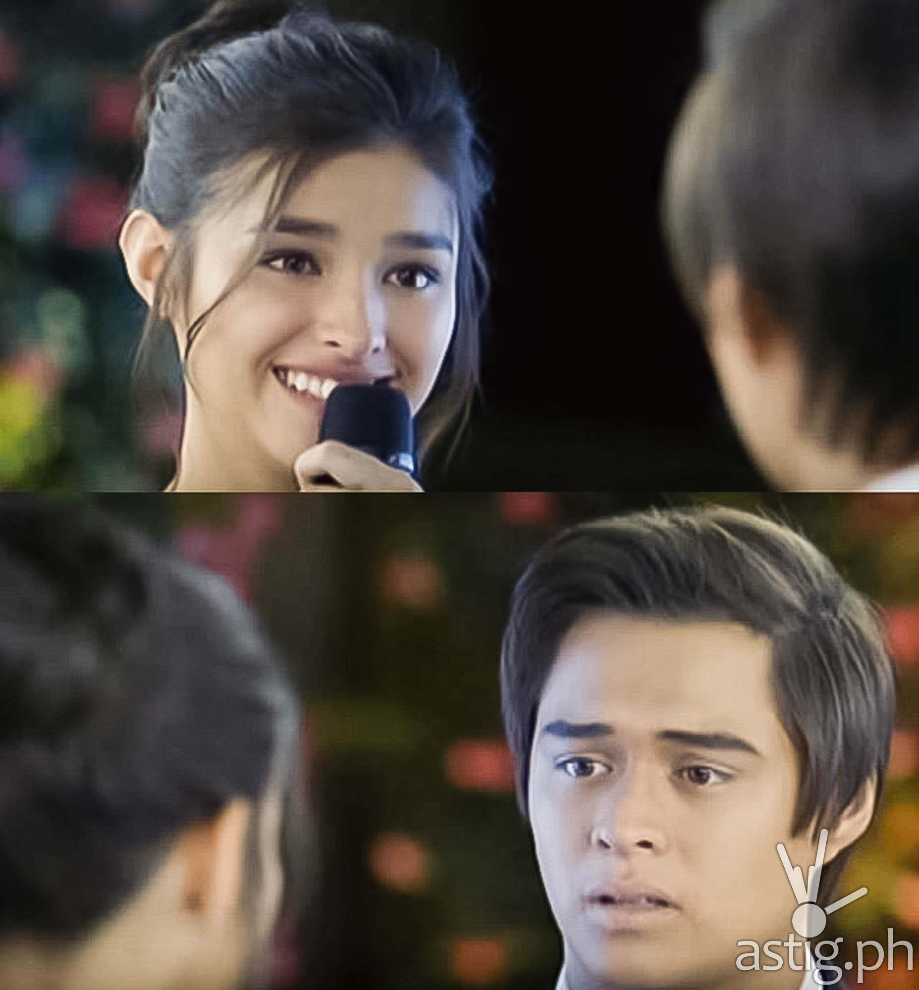 Serena says I love you to Tenten Dolce Amore