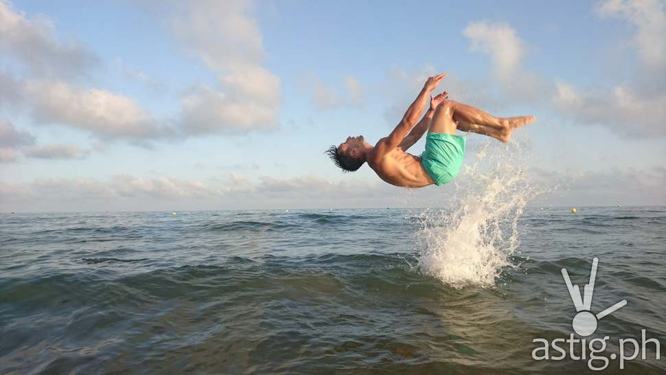 Sony Xperia Z5 Camera - Sea Jump