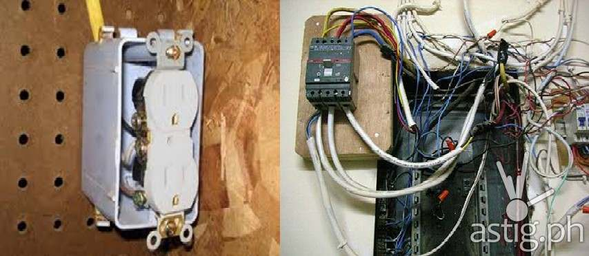 schneider electric faulty wiring 1