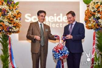 New customer lounge unveiled as Schneider Electric marked its 20th year in the Philippines