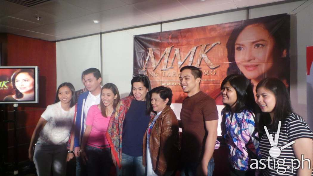 With MMK staff