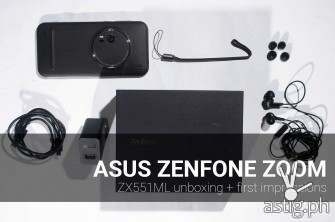 ASUS ZenFone Zoom review: unboxing + first impressions