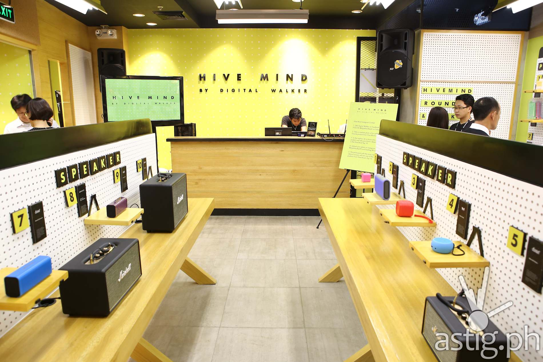 Hive Mind by Digital Walker is now open in TriNoMa